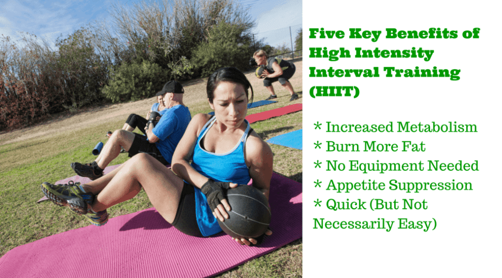 Five Key Benefits of High Intensity Interval Training (HIIT)