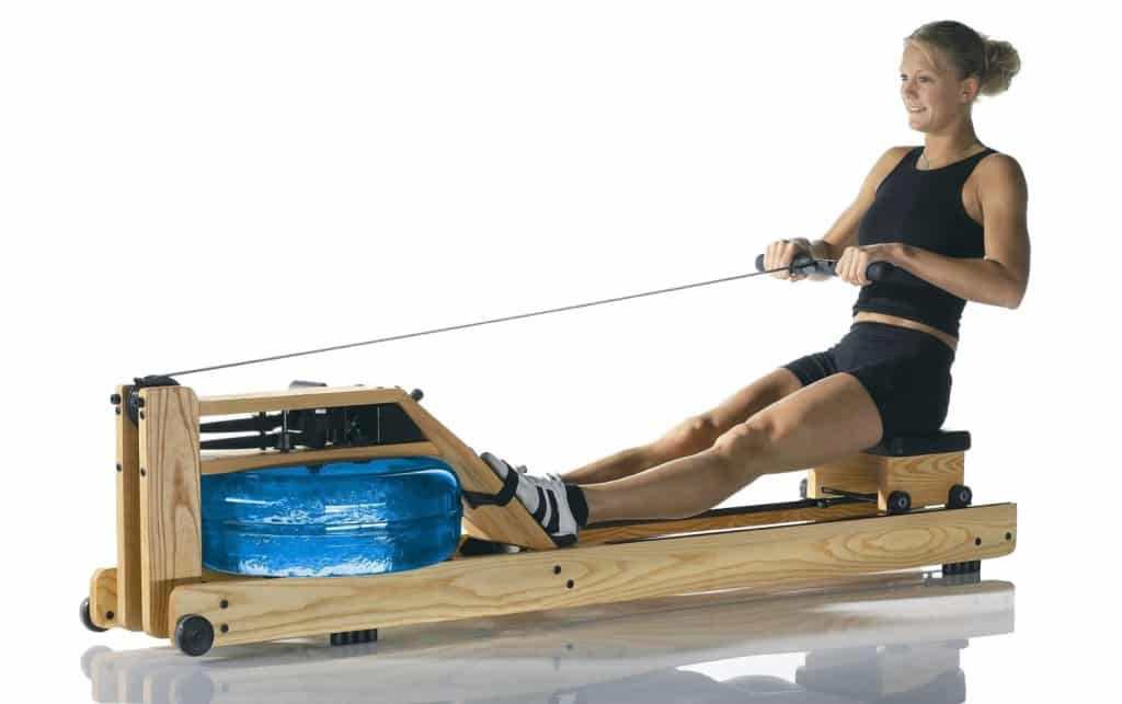 using water rower