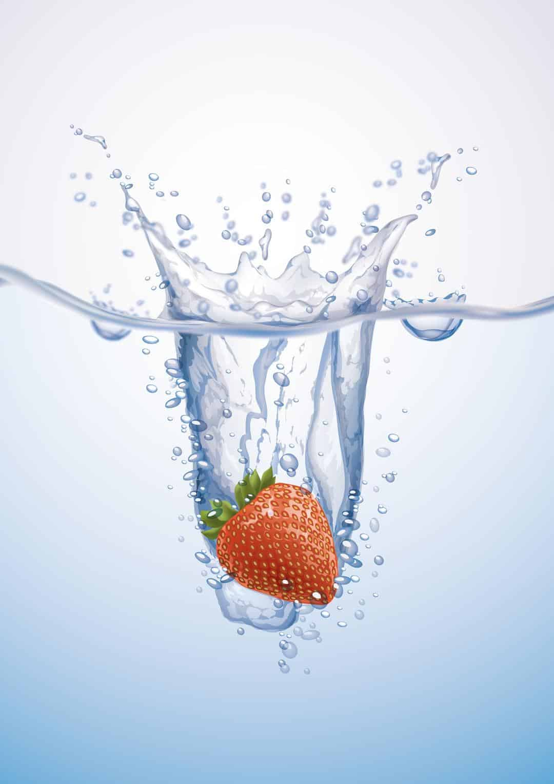 Water detox - Homemade Strawberry Multivitamin Water 1