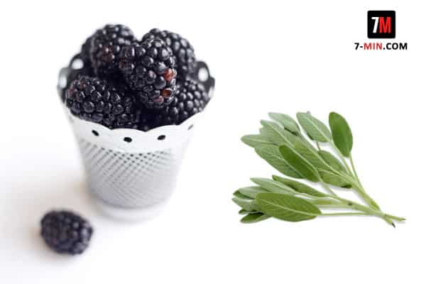 Blackberry and Sage Water