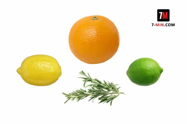Citrus and Rosemary Infused Water