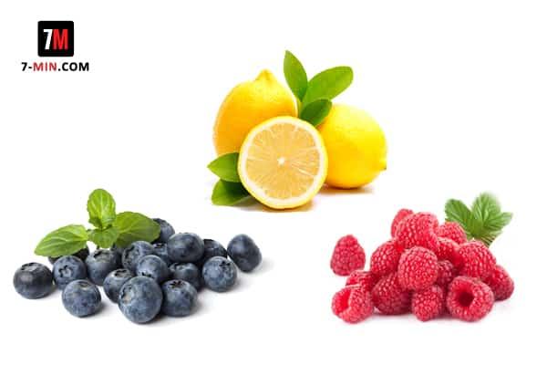 Lemon Berry Infused Water