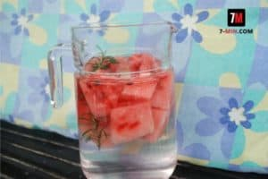 Watermelon and Rosemary Infused Water