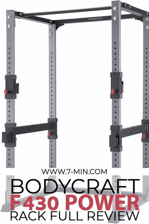 BodyCraft F430 Power Rack Full Review