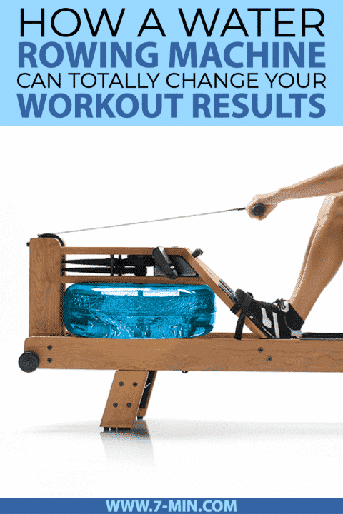 water rowing machine can totally change workout results