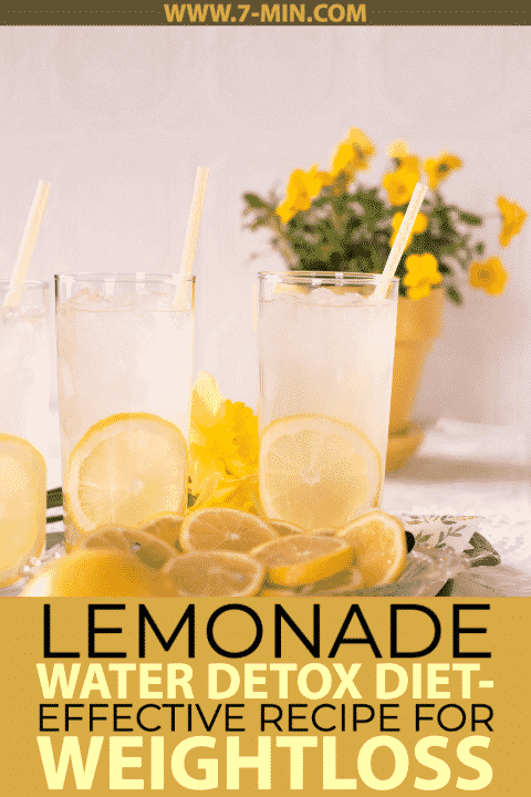 Master Cleanse Lemonade Water Detox Diet