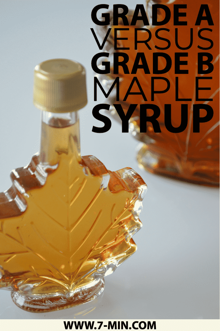 Grade A Versus Grade B Maple Syrup Are They Really Different