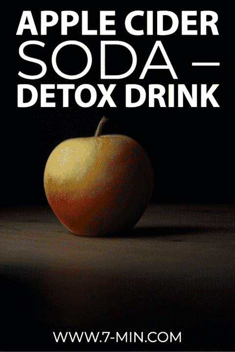 Apple Cider Soda Detox Drink