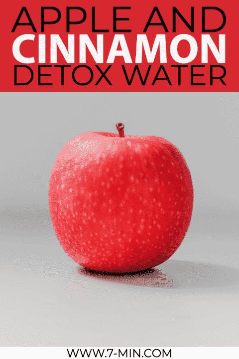 Apple and Cinnamon Detox Water