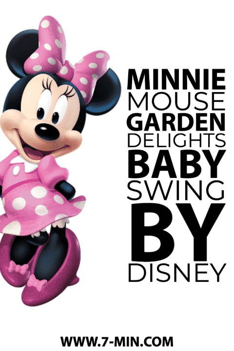 Minnie Mouse Garden Delights Baby swing by Disney