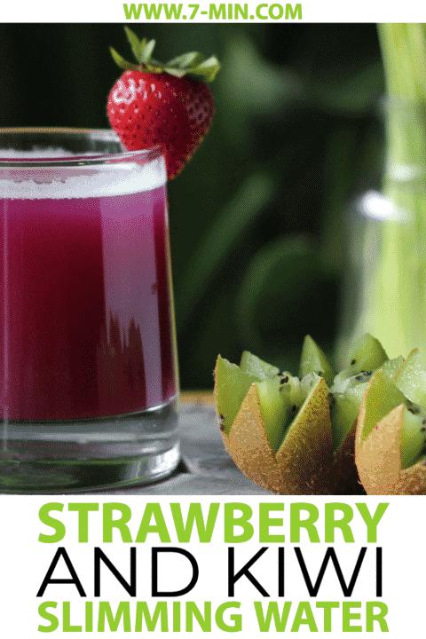 Strawberry and Kiwi Slimming Detox Water